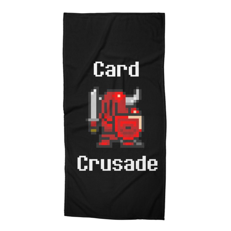 Card Crusade Accessories Beach Towel by Pollywog Games Merch