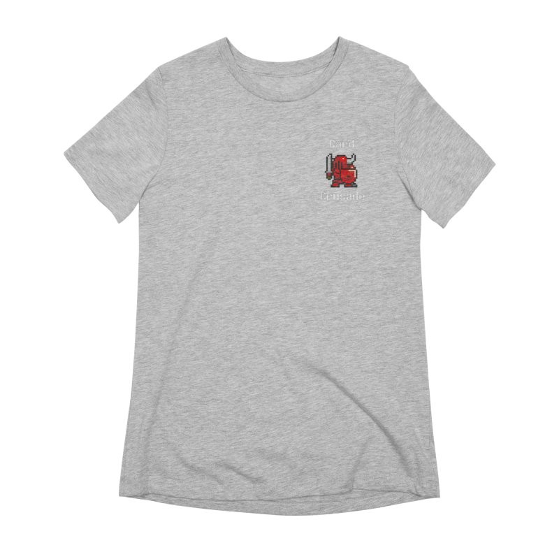 Card Crusade - Small Women's Extra Soft T-Shirt by Pollywog Games Merch