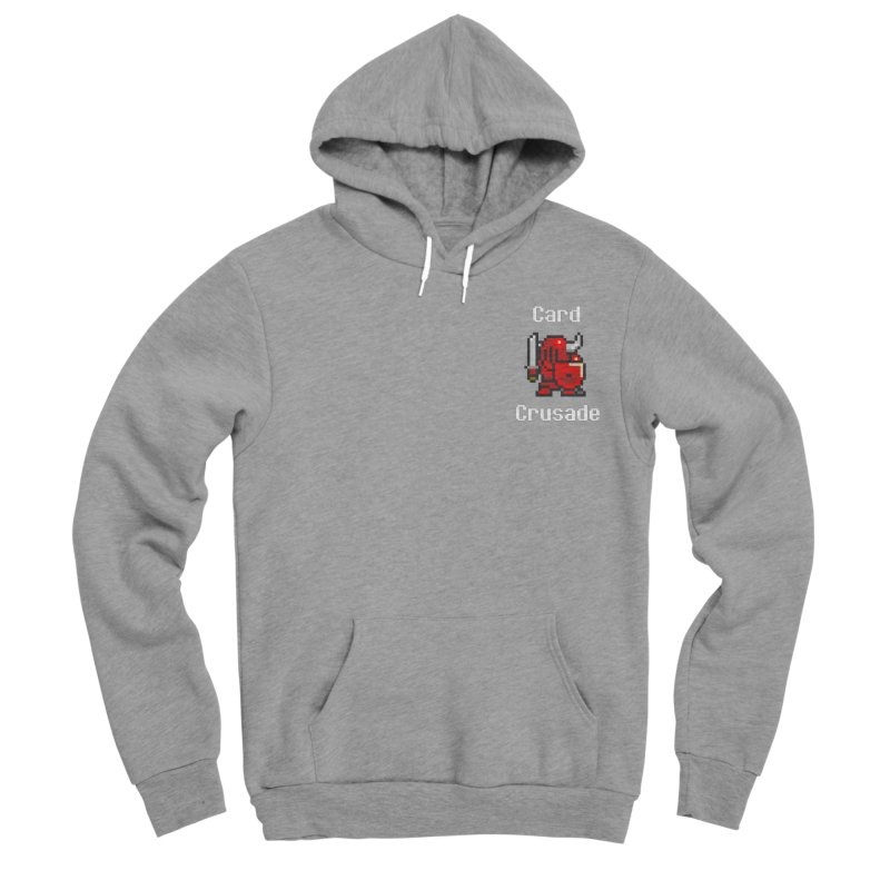 Card Crusade - Small Men's Sponge Fleece Pullover Hoody by Pollywog Games Merch