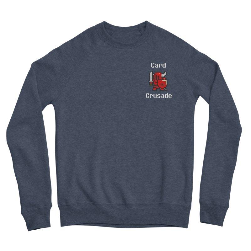 Card Crusade - Small Men's Sponge Fleece Sweatshirt by Pollywog Games Merch