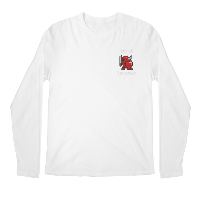 Card Crusade - Small Men's Regular Longsleeve T-Shirt by Pollywog Games Merch