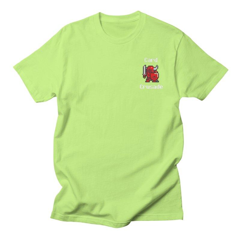 Card Crusade - Small Men's T-Shirt by Pollywog Games Merch