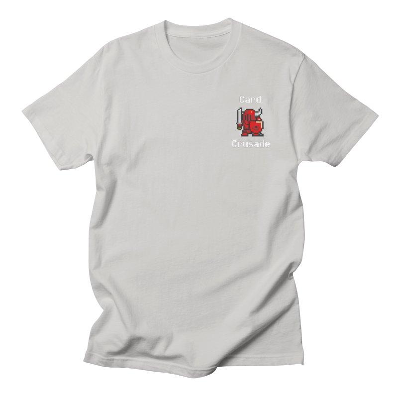 Card Crusade - Small Men's Regular T-Shirt by Pollywog Games Merch