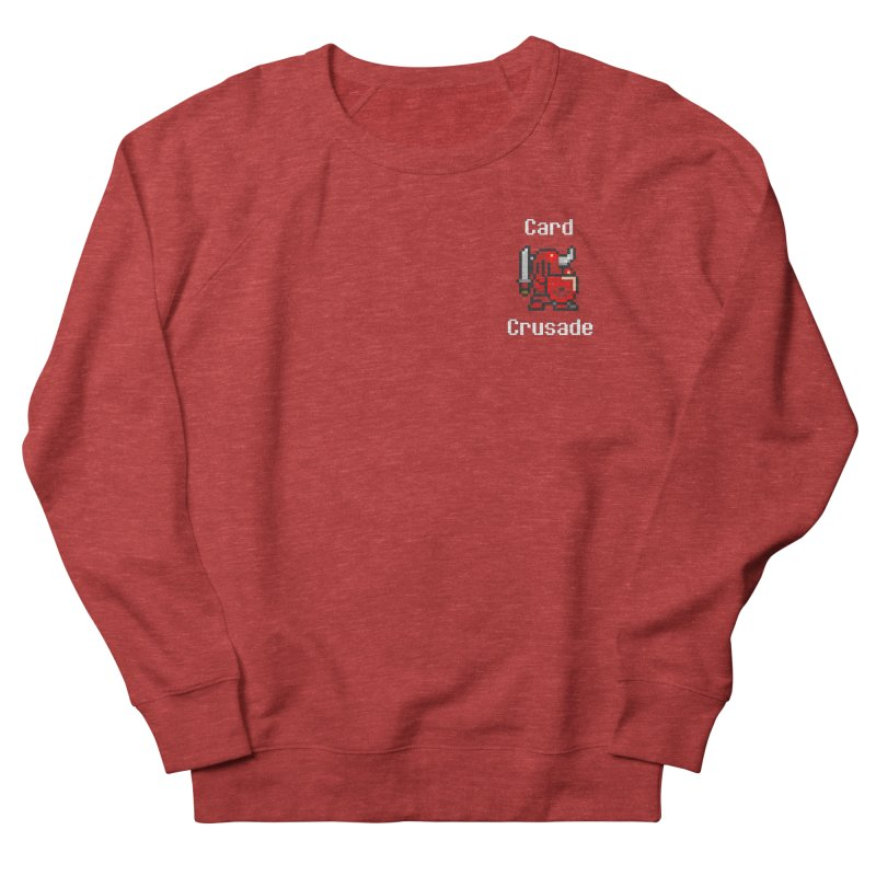 Card Crusade - Small Men's French Terry Sweatshirt by Pollywog Games Merch