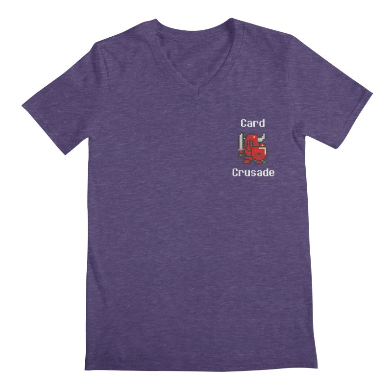 Card Crusade - Small Men's V-Neck by Pollywog Games Merch