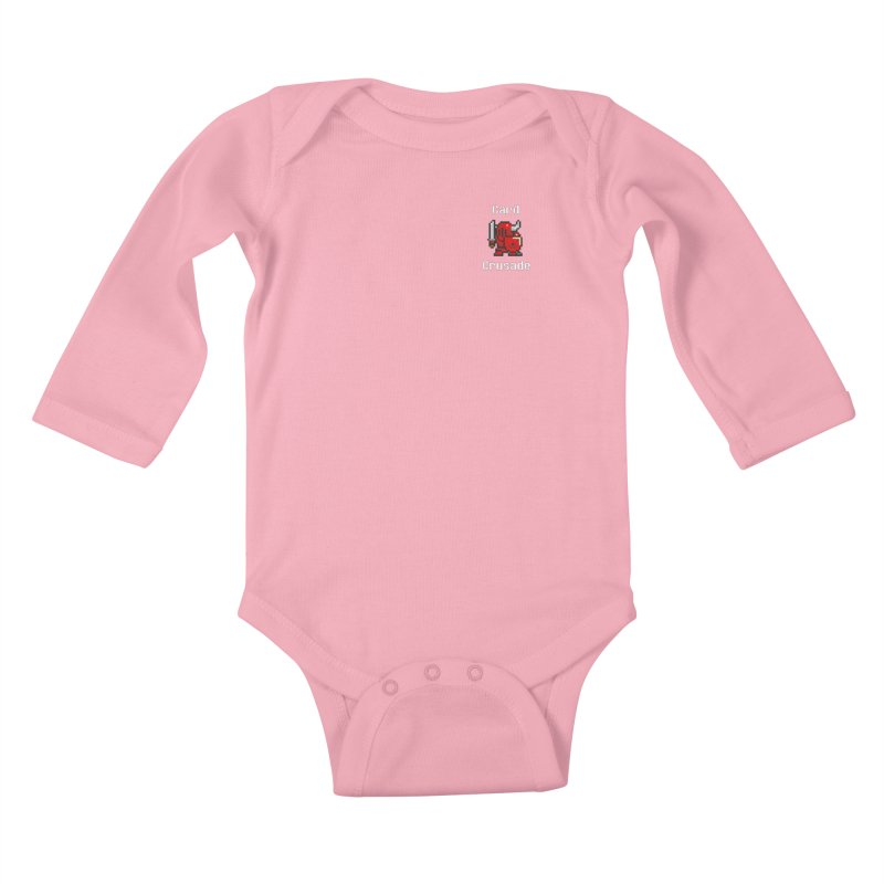 Card Crusade - Small Kids Baby Longsleeve Bodysuit by Pollywog Games Merch