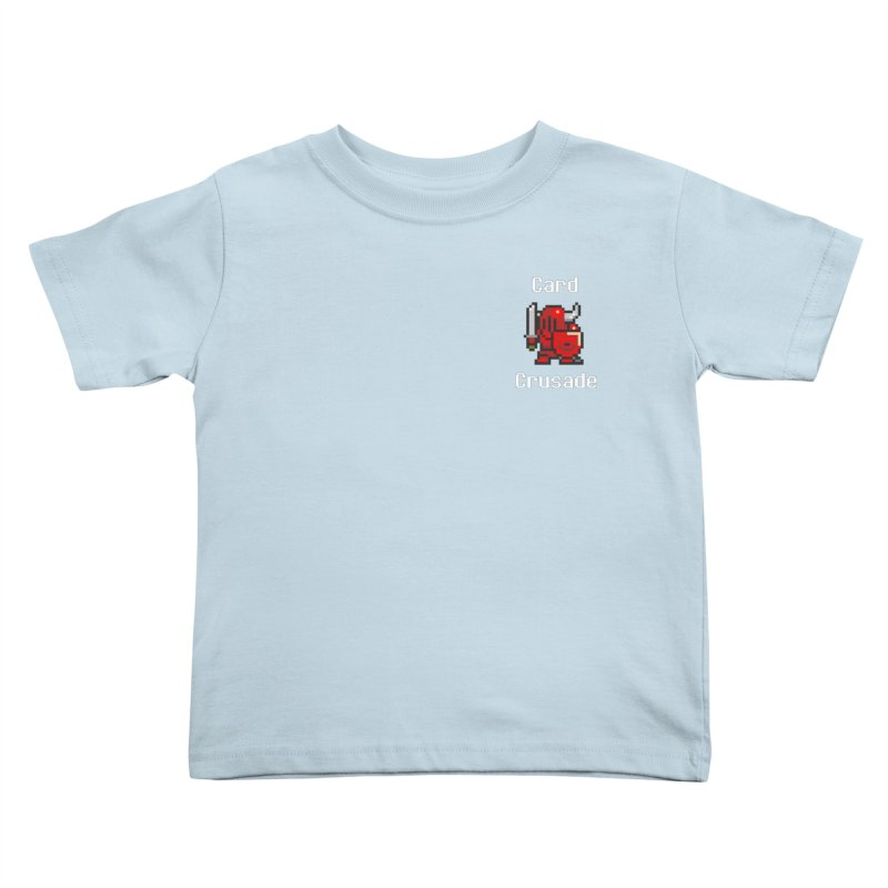 Card Crusade - Small Kids Toddler T-Shirt by Pollywog Games Merch