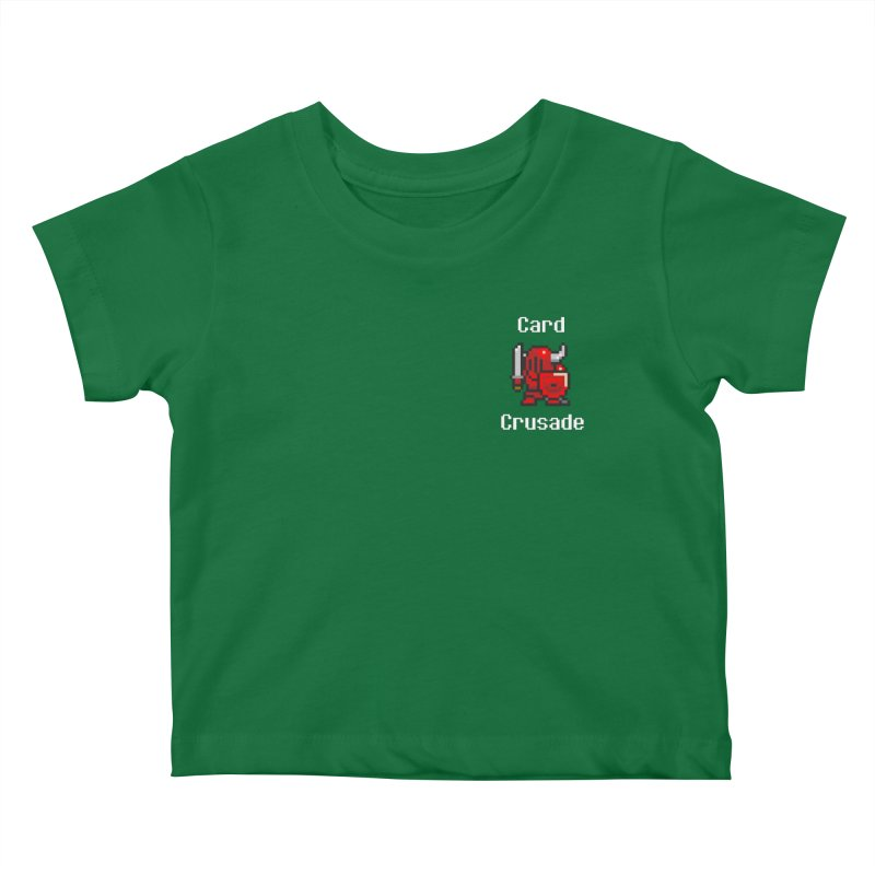 Card Crusade - Small Kids Baby T-Shirt by Pollywog Games Merch