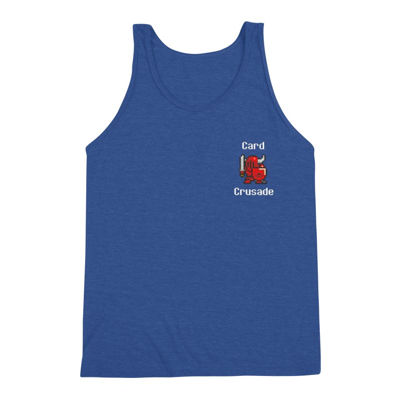 Card Crusade - Small Men's Tank by Pollywog Games Merch