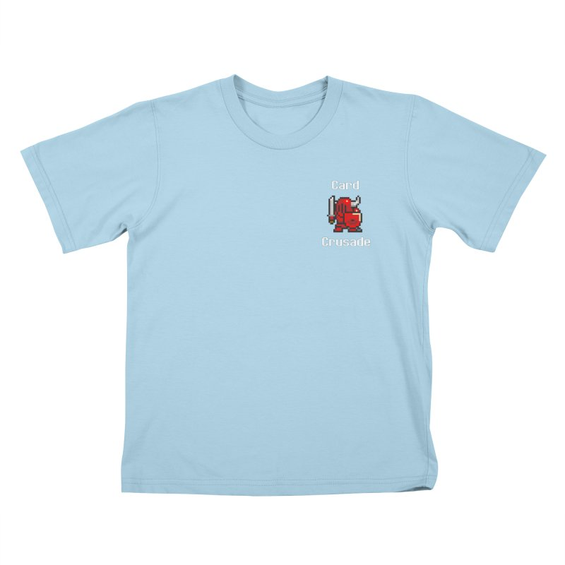 Card Crusade - Small Kids T-Shirt by Pollywog Games Merch