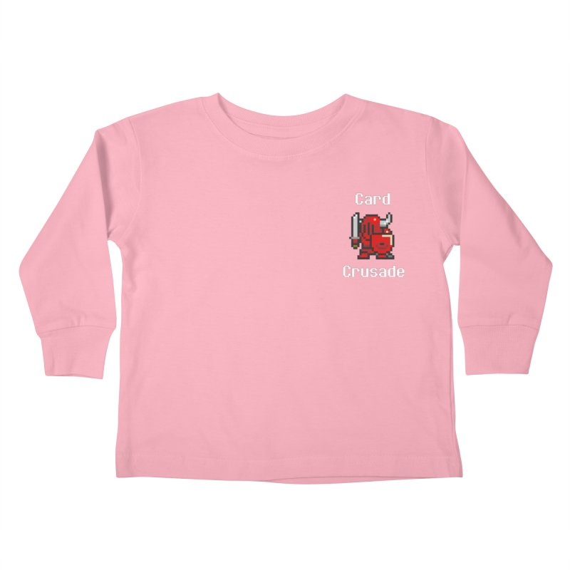 Card Crusade - Small Kids Toddler Longsleeve T-Shirt by Pollywog Games Merch