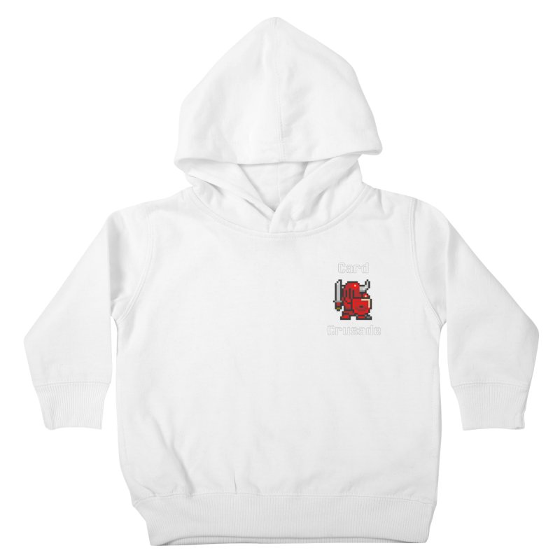 Card Crusade - Small Kids Toddler Pullover Hoody by Pollywog Games Merch