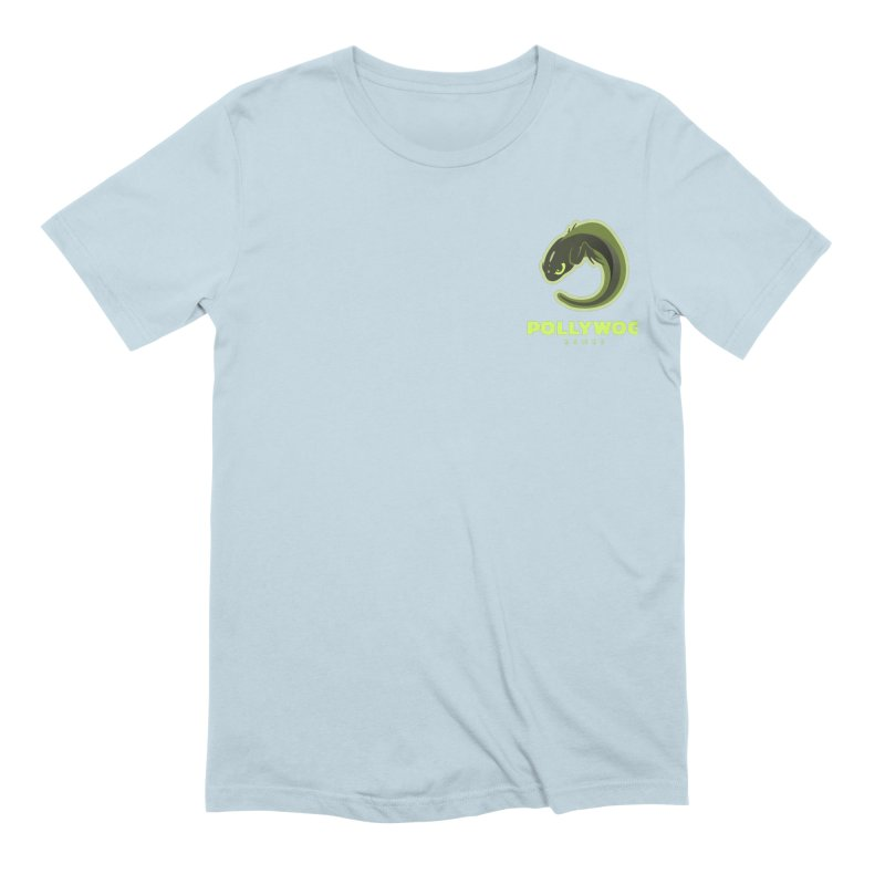 Pollywog Games Logo, Dark Background Men's Extra Soft T-Shirt by Pollywog Games Merch