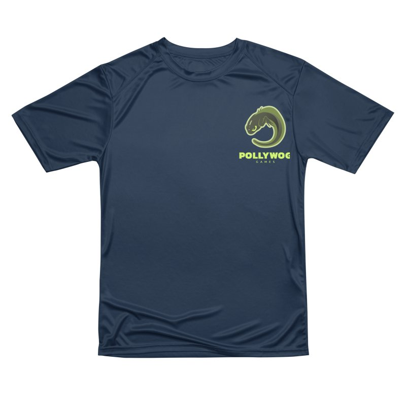 Pollywog Games Logo, Dark Background Women's Performance Unisex T-Shirt by Pollywog Games Merch