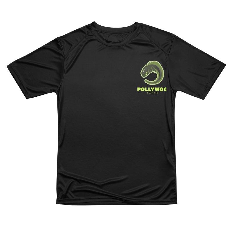 Pollywog Games Logo, Dark Background Men's Performance T-Shirt by Pollywog Games Merch