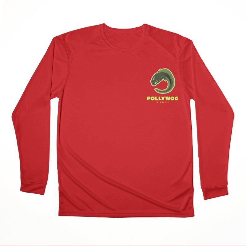 Pollywog Games Logo, Dark Background Men's Longsleeve T-Shirt by Pollywog Games Merch