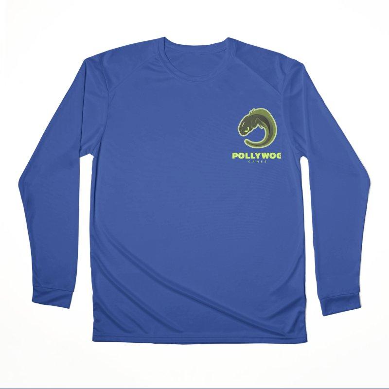Pollywog Games Logo, Dark Background Women's Performance Unisex Longsleeve T-Shirt by Pollywog Games Merch