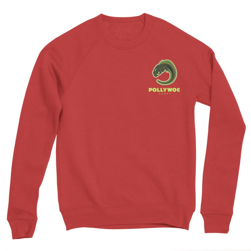 Pollywog Games Logo, Dark Background Women's Sponge Fleece Sweatshirt by Pollywog Games Merch