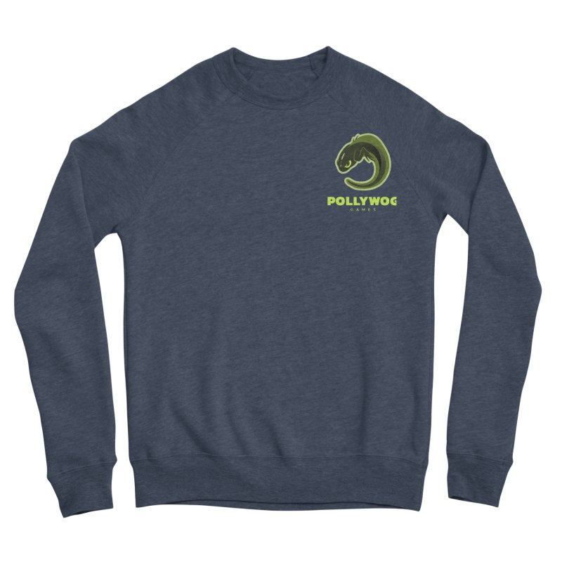 Pollywog Games Logo, Dark Background Men's Sponge Fleece Sweatshirt by Pollywog Games Merch