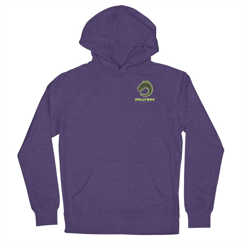 Pollywog Games Logo, Dark Background Women's Pullover Hoody by Pollywog Games Merch