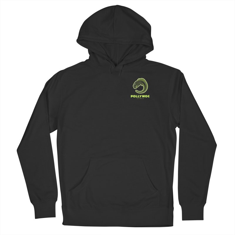 Pollywog Games Logo, Dark Background Men's Pullover Hoody by Pollywog Games Merch