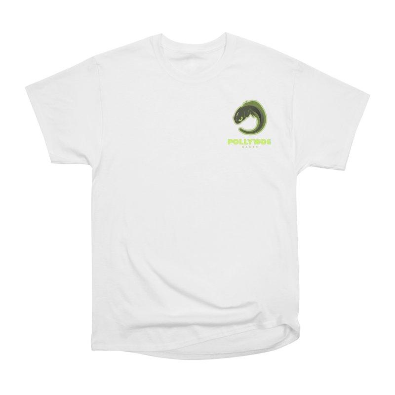 Pollywog Games Logo, Dark Background Men's Heavyweight T-Shirt by Pollywog Games Merch