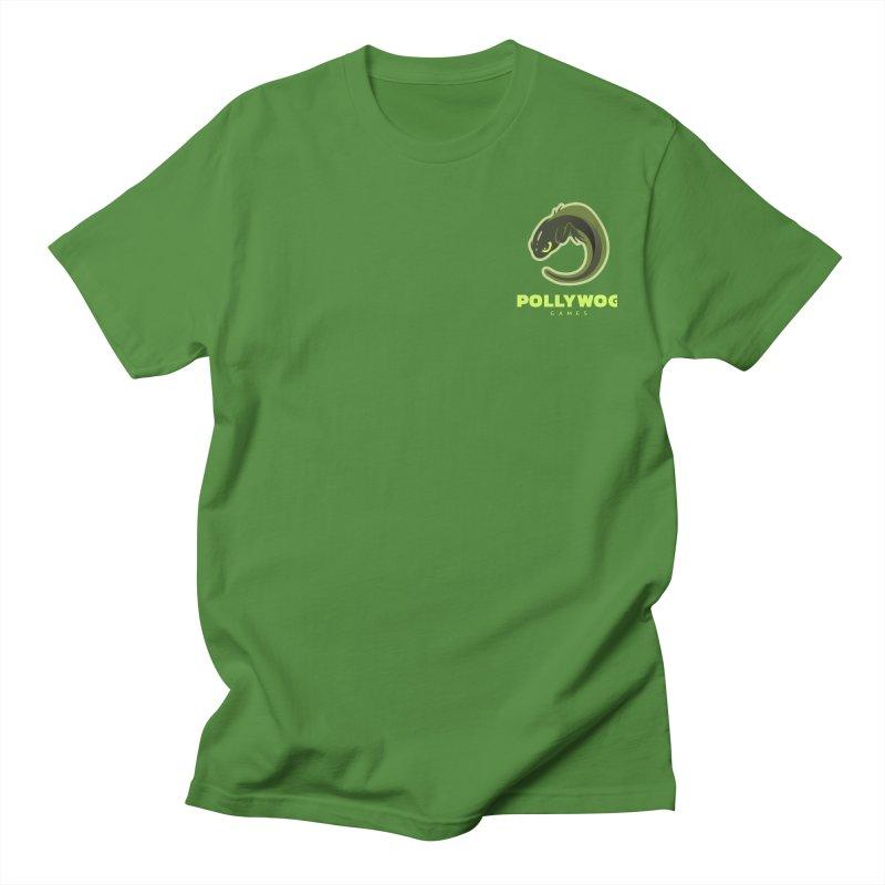 Pollywog Games Logo, Dark Background Women's Regular Unisex T-Shirt by Pollywog Games Merch