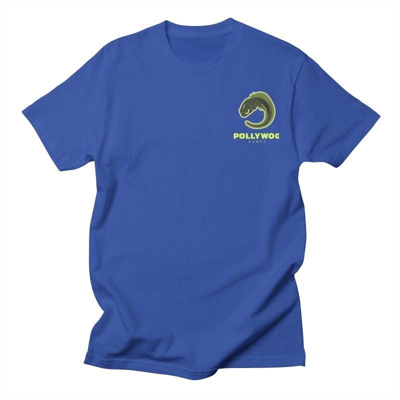 Pollywog Games Logo, Dark Background Men's Regular T-Shirt by Pollywog Games Merch