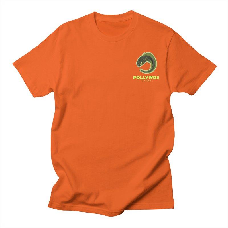 Pollywog Games Logo, Dark Background Men's T-Shirt by Pollywog Games Merch