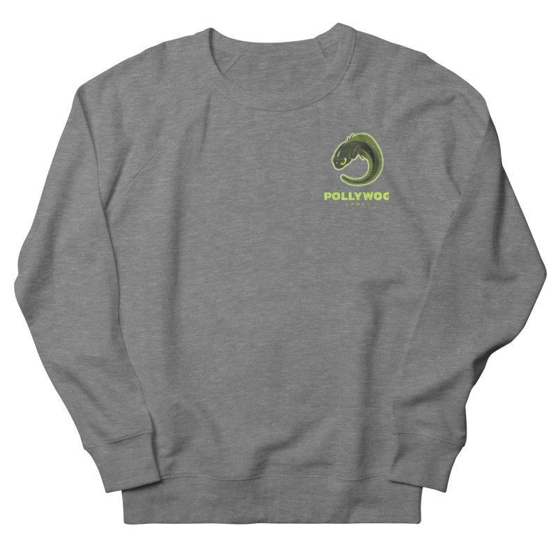 Pollywog Games Logo, Dark Background Men's Sweatshirt by Pollywog Games Merch