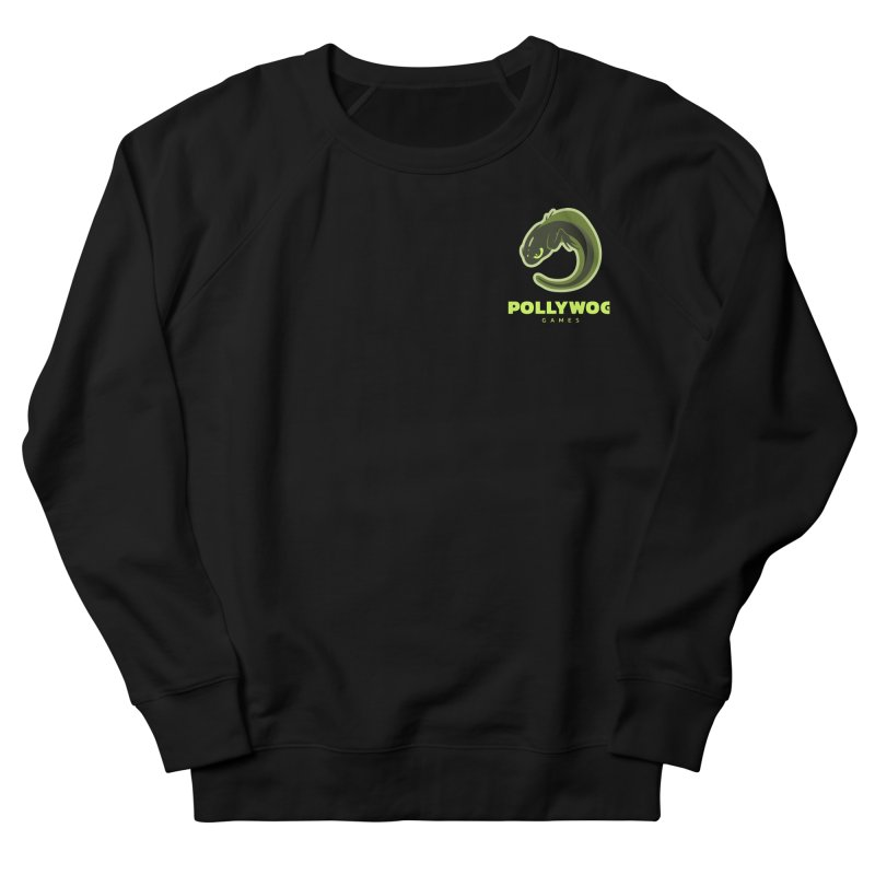 Pollywog Games Logo, Dark Background Men's Sweatshirt by Pollywog Games Merch