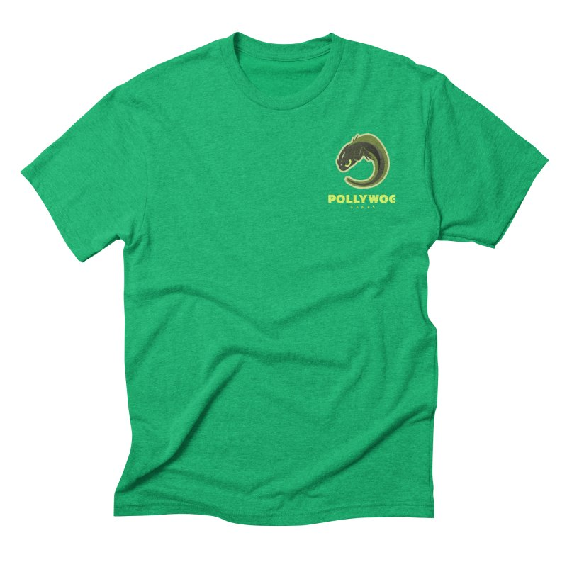 Pollywog Games Logo, Dark Background Men's Triblend T-Shirt by Pollywog Games Merch
