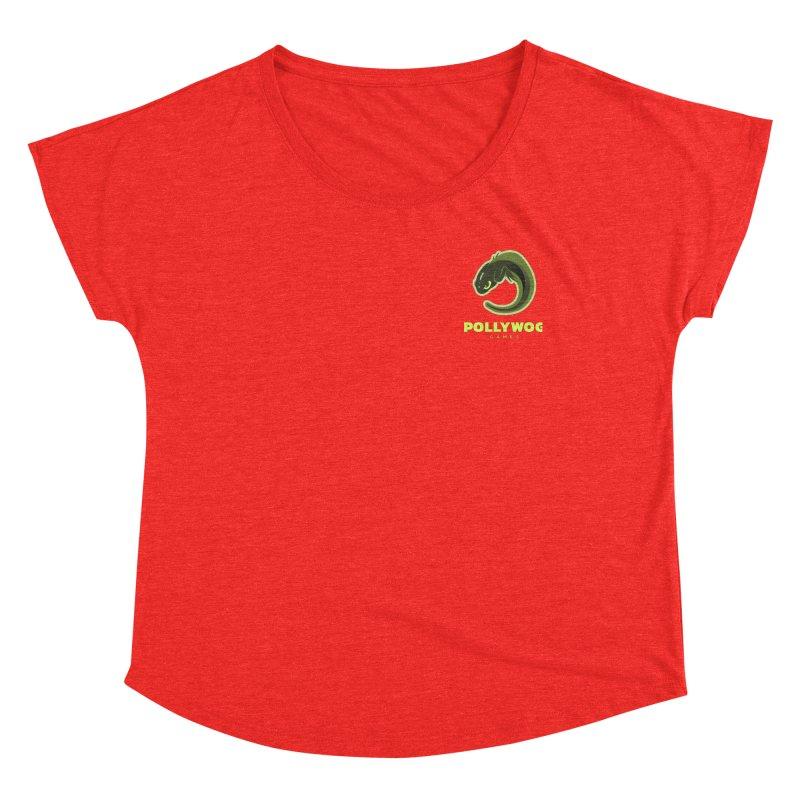 Pollywog Games Logo, Dark Background Women's Scoop Neck by Pollywog Games Merch