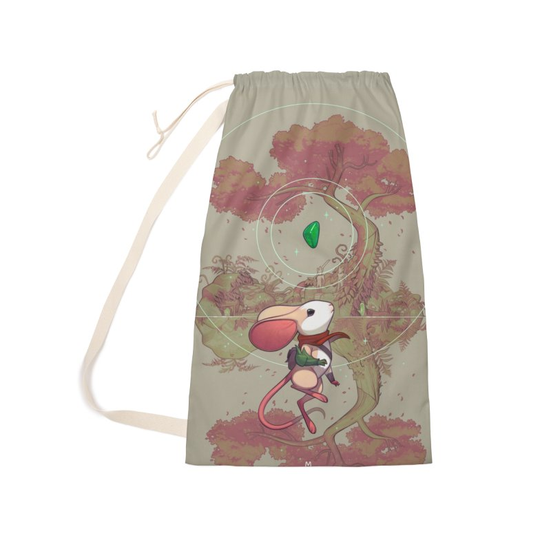 "Moss ""Twilight Garden"" Accessories Laundry Bag Bag by polyarc games"