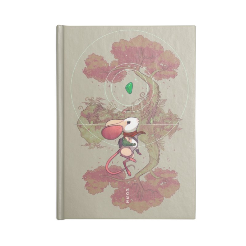 "Moss ""Twilight Garden"" Accessories Lined Journal Notebook by polyarc games"