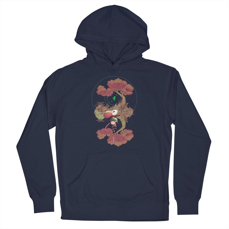 "Moss ""Twilight Garden"" Women's French Terry Pullover Hoody by polyarc games"