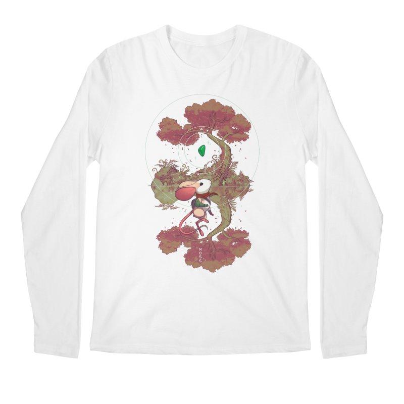 """Moss """"Twilight Garden"""" Men's Regular Longsleeve T-Shirt by polyarc games"""