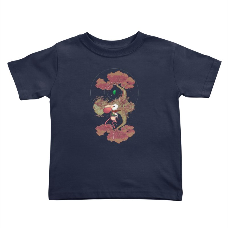 "Moss ""Twilight Garden"" Kids Toddler T-Shirt by polyarc games"