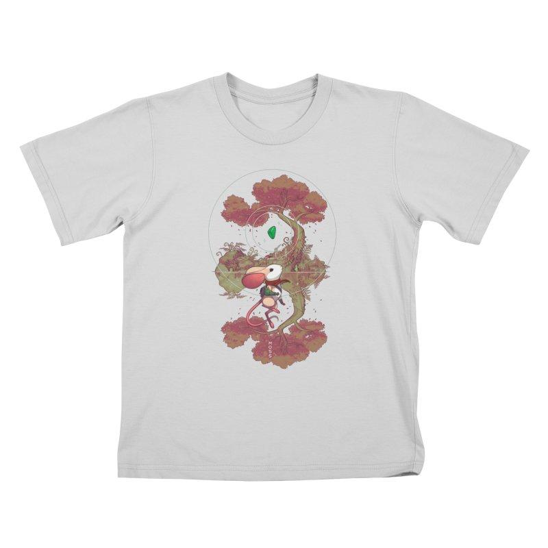 """Moss """"Twilight Garden"""" Kids T-Shirt by polyarc games"""