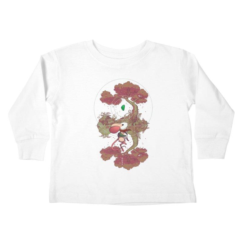 """Moss """"Twilight Garden"""" Kids Toddler Longsleeve T-Shirt by polyarc games"""