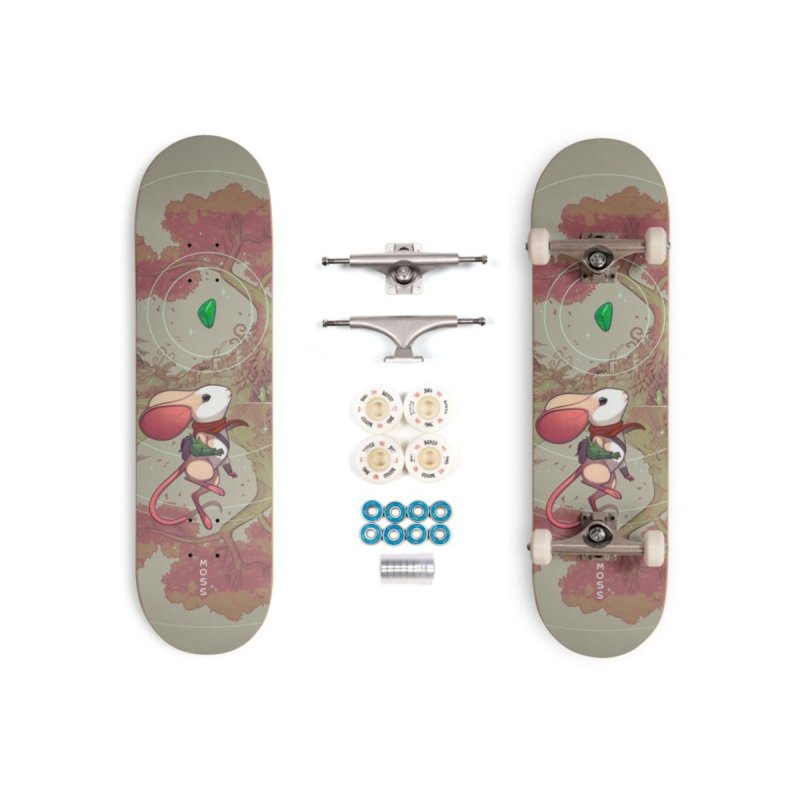Moss Skateboard Accessories Skateboard by polyarc games