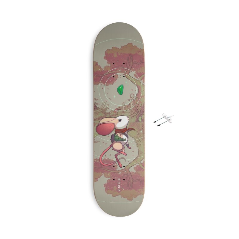 Moss Skateboard Accessories With Hanging Hardware Skateboard by polyarc games