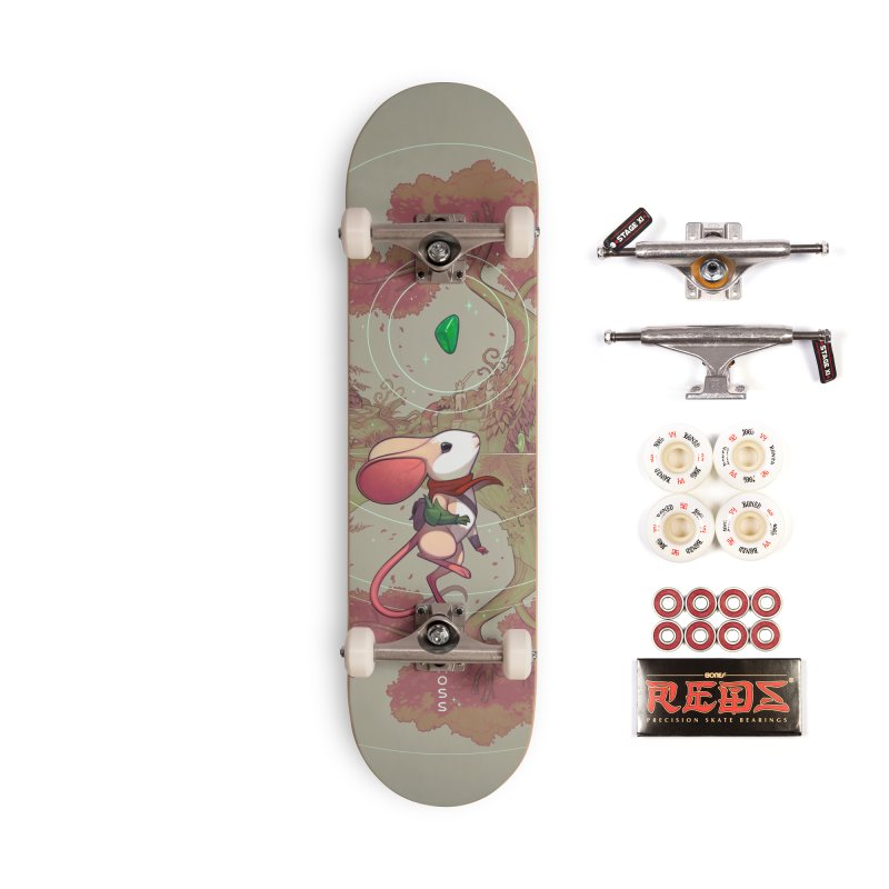 Moss Skateboard Accessories Complete - Pro Skateboard by polyarc games