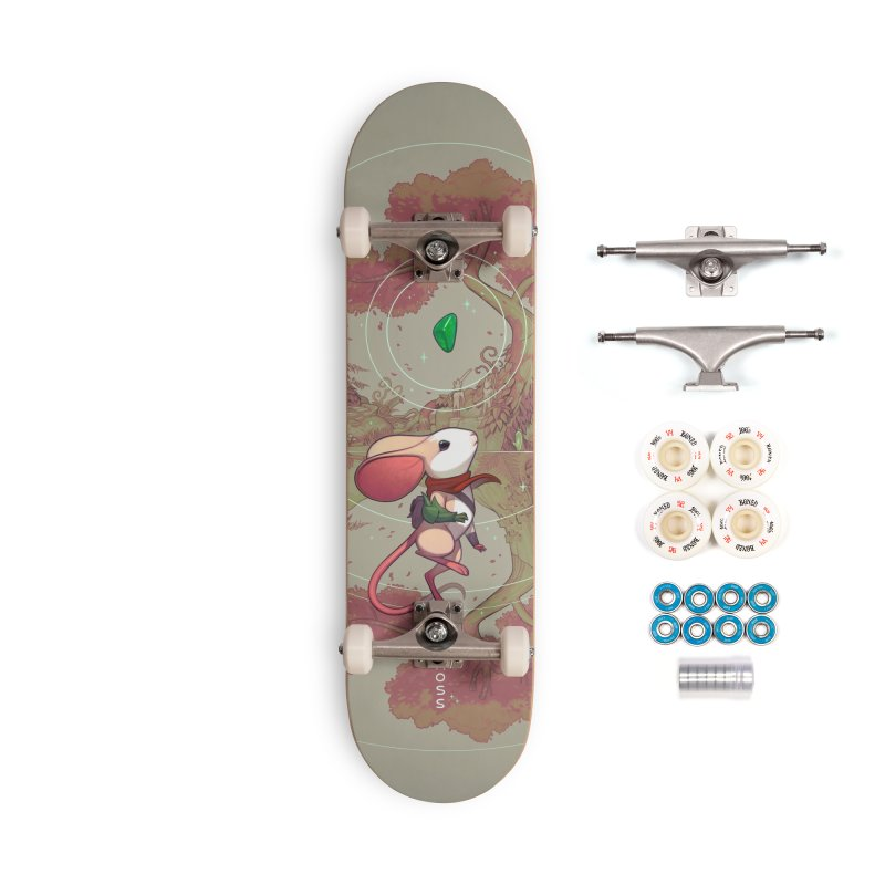 Moss Skateboard Accessories Complete - Premium Skateboard by polyarc games