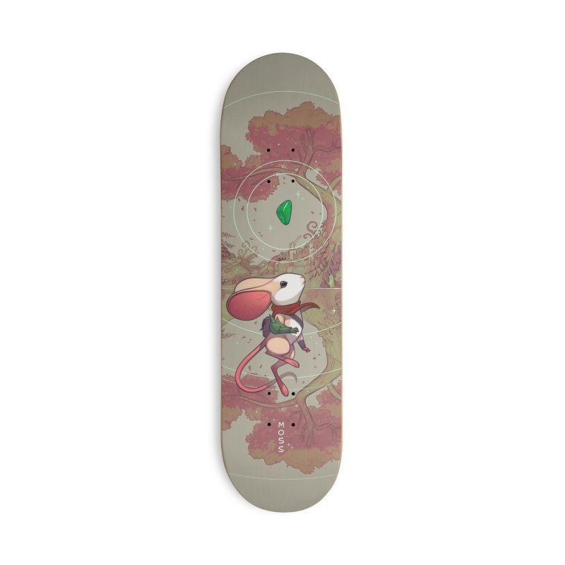 Moss Skateboard Accessories Deck Only Skateboard by polyarc games