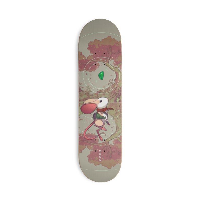 Moss Skateboard Accessories Skateboard by polyarc games