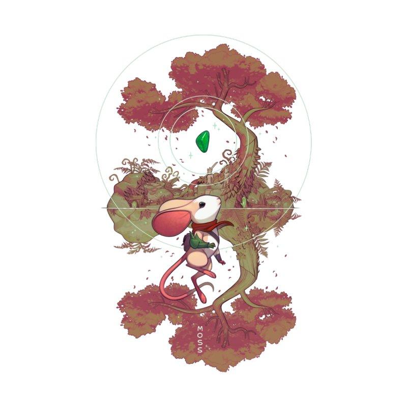 "Moss ""Twilight Garden"" Accessories Mug by polyarc games"
