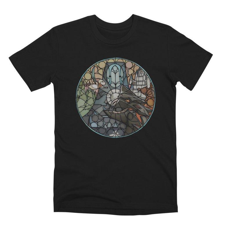 Moss Fragments Men's Premium T-Shirt by polyarc games