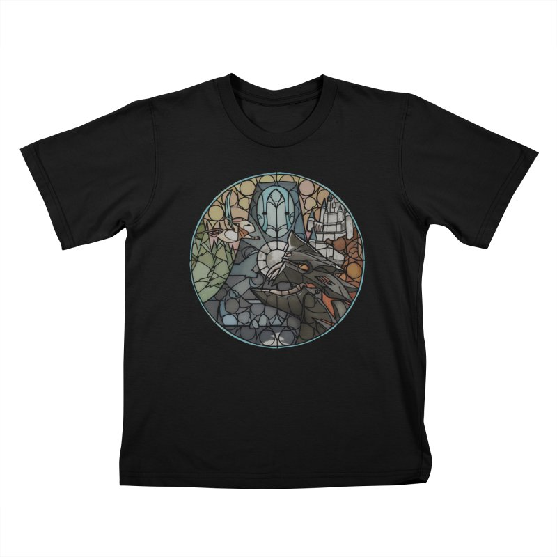 Moss Fragments Kids T-Shirt by polyarc games