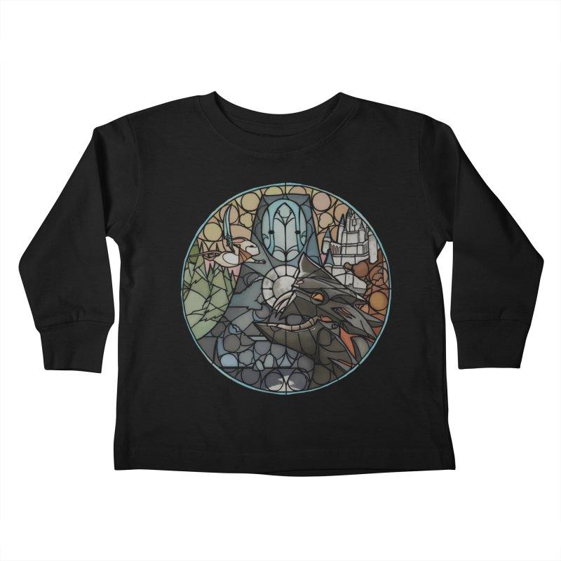 Moss Fragments Kids Toddler Longsleeve T-Shirt by polyarc games